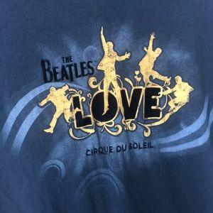 "The Beatles Tops - ❣️ The BEATLES ""LOVE"" Cirque Du Soleil Graphic Tee"